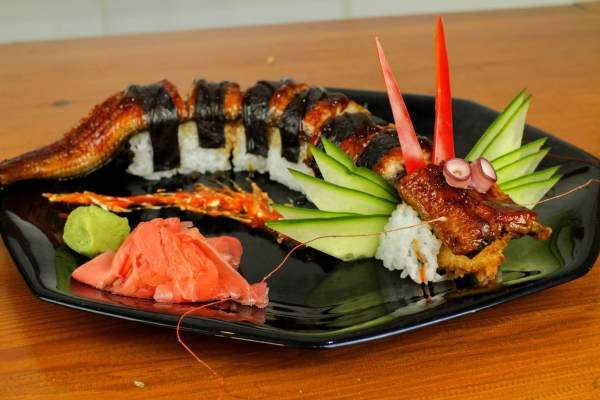 Dragon Sushi Roll