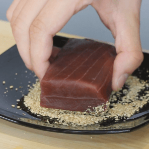 how-to-sear-tuna-for-sushi-rolls