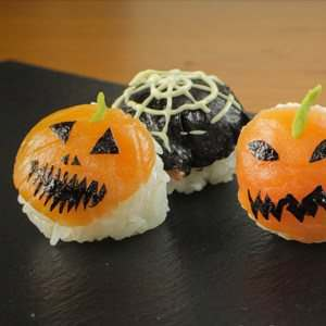Halloween Sushi Balls Recipe