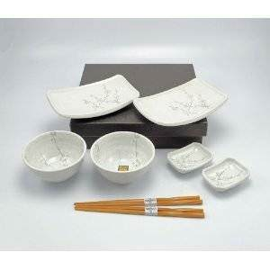Japanese Dinner set for (2 People)