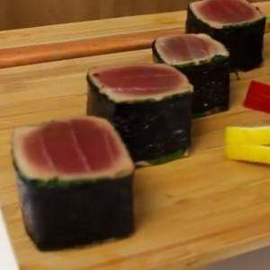 Coriander Seared Tuna Cubes