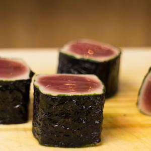 sushi-grade-tuna-cubes-wrapped-in-nori