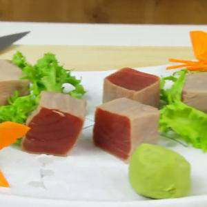 Blanched Tuna Cubes