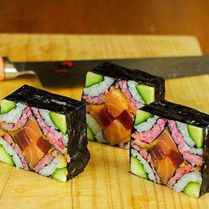 Mosaic Sushi Roll Evolution