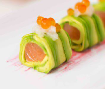 Salmon Avocado Roll Recipe