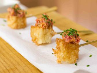 Crispy Rice Tuna Tartar Poppers Recipe