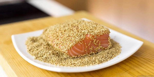 salmon-covered-toasted-sesame-seeds