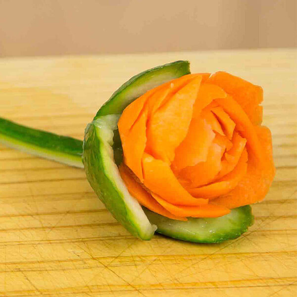 Carrot Rose Tutorial